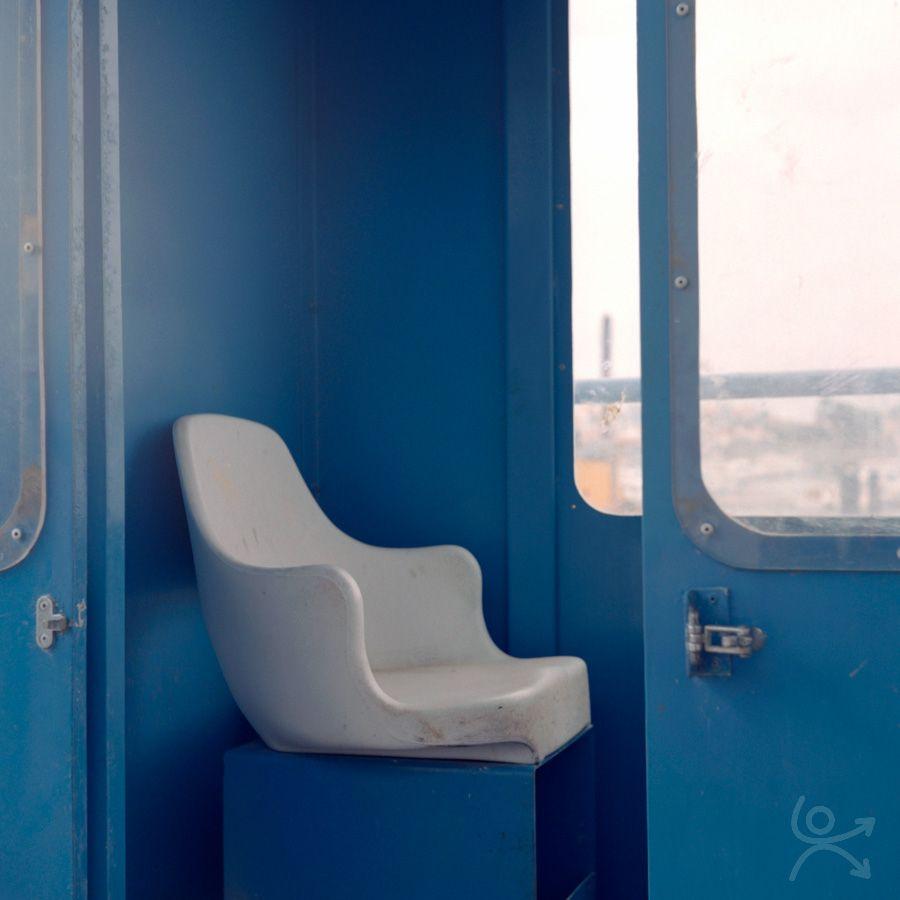 La cabine bleue