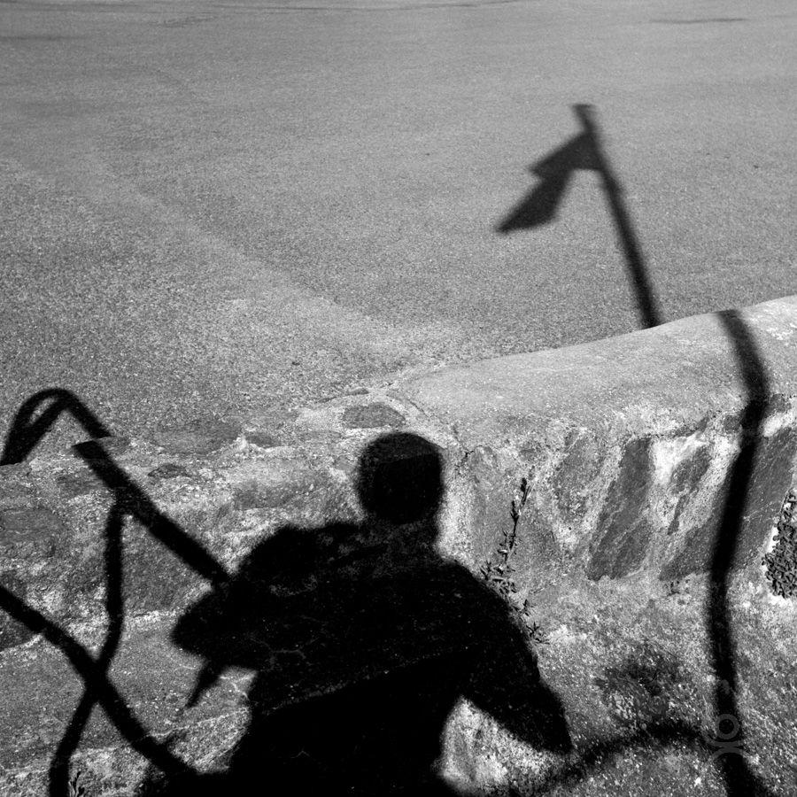 Autoportrait en ombre ondulée